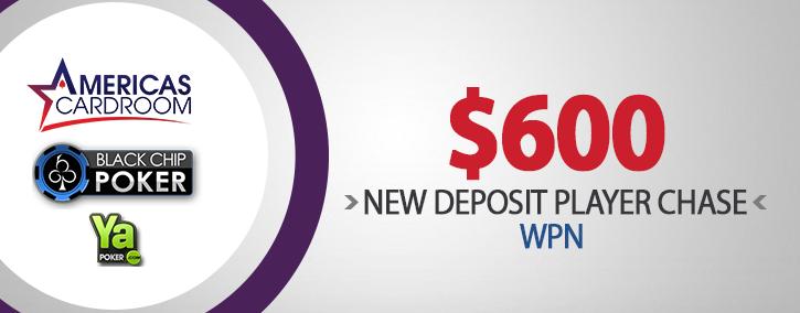 New Deposit Player Chase WPN WinningPokerNetwork 725x284
