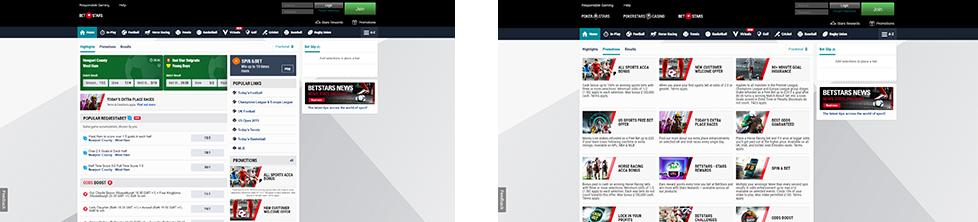PAW FE Rooms screenshots BetStars