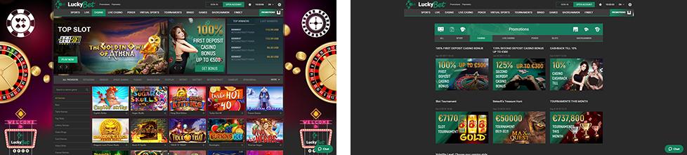 PAW FE Rooms screenshots LuckyBet Casino