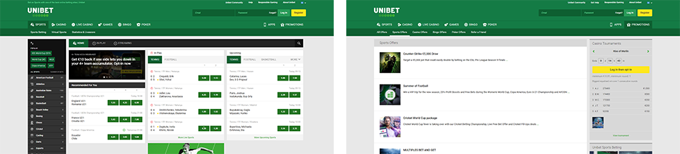 PAW FE Rooms screenshots Unibet Sport