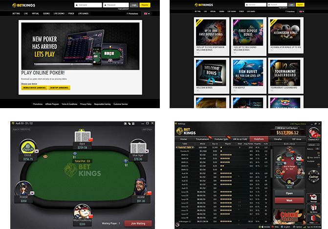 PAW FE Rooms screenshots betkings