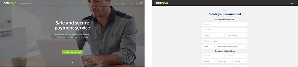 PAW FE Rooms screenshots ecopayz