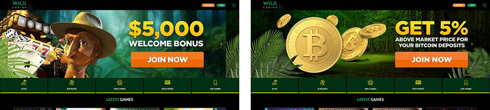 PAW FE Rooms screenshots wild casino