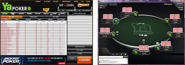 PAW FE Rooms screenshots ya poker