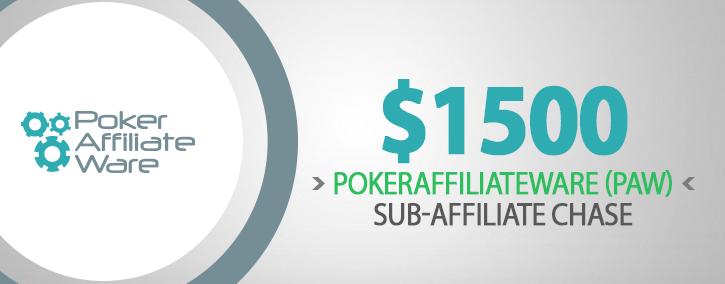 PokerAffiliateWare PAW Sub Affiliate Chase 725x284