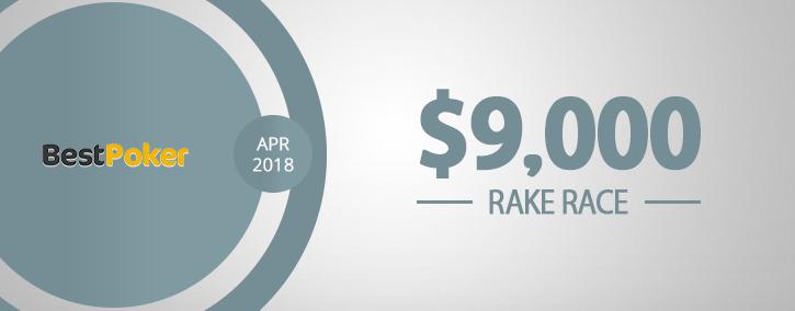 RakeRaces 9000 BestPoker 725x284 APRIL2018