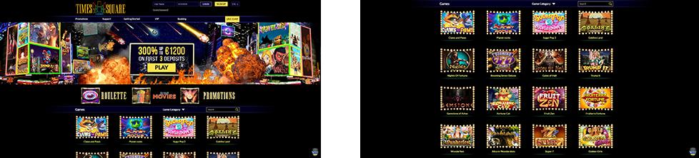 Rooms screenshots Times Square casino